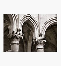 Cistercian vaulting Photographic Print