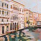 Venetian Palaces by Filip Mihail