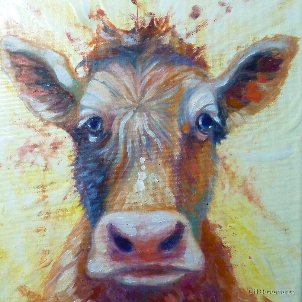 cow by Gill Bustamante