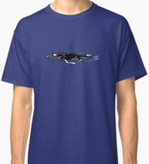 Border Collie in Action {dark} Classic T-Shirt