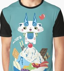 Ice Cream Komasan Graphic T-Shirt