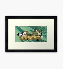 The Ground is my Ocean Part Five Framed Print