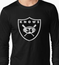 """VICTRS """"34 Knows""""  Long Sleeve T-Shirt"""