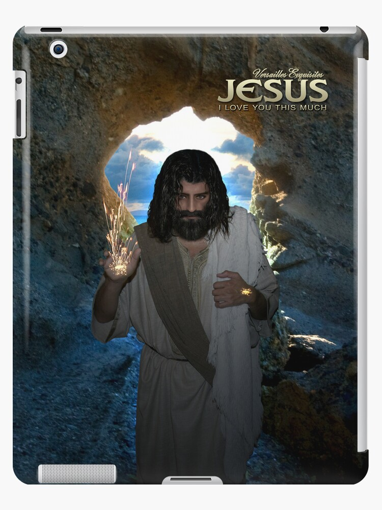 Jesus: I am the resurrection (iPad Case) by Angelicus