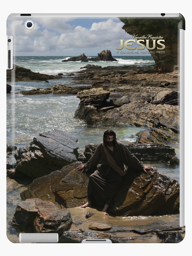 Jesus: If you love Me, that's all I need (iPad Case) by Angelicus