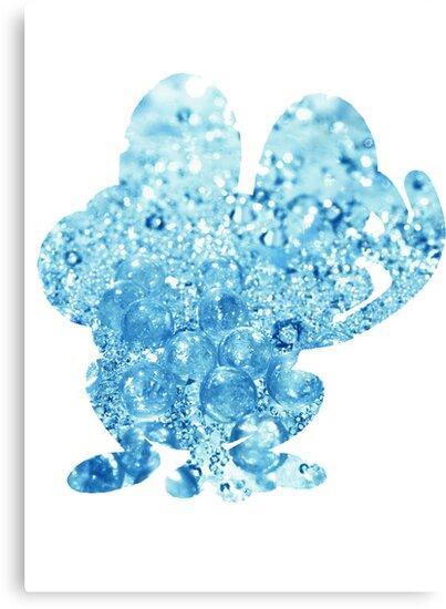 Froakie used Bubble by G W