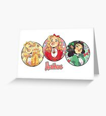 heather, heather and heather Greeting Card