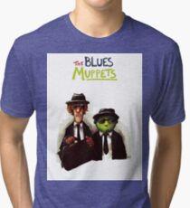 The Blues Muppets Tri-blend T-Shirt