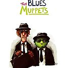 The Blues Muppets by nyvinter