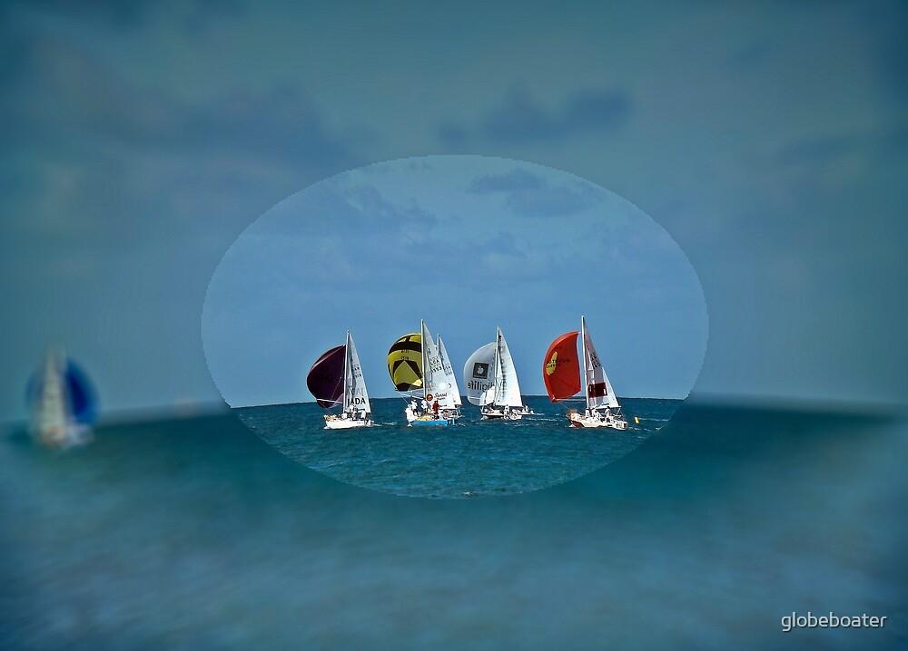 J24 Regatta by globeboater