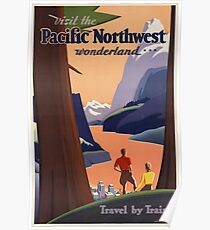 Vintage poster - Pacific Northwest Poster