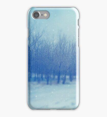 Blue Woodland iPhone Case/Skin
