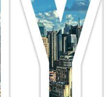 NEW YORK CITY. Sticker