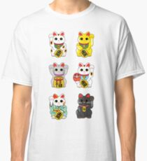 Lucky Cat / Maneki Neko Classic T-Shirt