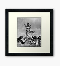 Car Thief 9. Framed Print