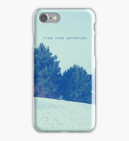 Find Your Adventure iPhone Case/Skin