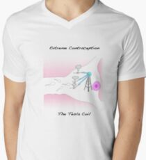 Extreme Contraception: The Tesla Coil Mens V-Neck T-Shirt