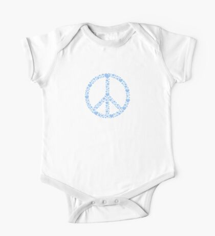 Peace made of Hearts VRS2 Kids Clothes
