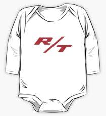 R/T Large Logo Shirt One Piece - Long Sleeve