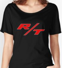 R/T Large Logo Shirt Women's Relaxed Fit T-Shirt