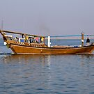 Departing Dhow by Kasia-D