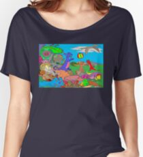 Doodlesaurs Women's Relaxed Fit T-Shirt
