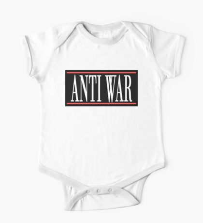 "Peace ""ANTI WAR"" Kids Clothes"