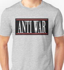 """Peace """"ANTI WAR"""" Slim Fit T-Shirt"""
