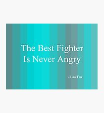 'Fighter' By Lao Tzu  Photographic Print