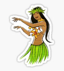 Like Hawaiian hula girls are
