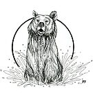 Grizzly Bear  by Rose Swenson