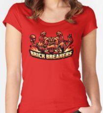 Brick Breakers Women's Fitted Scoop T-Shirt