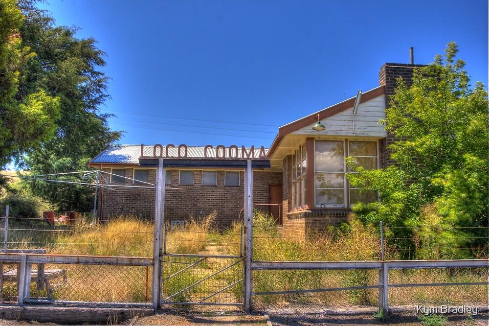 Cooma Railway NSW Australia  by Kym Bradley