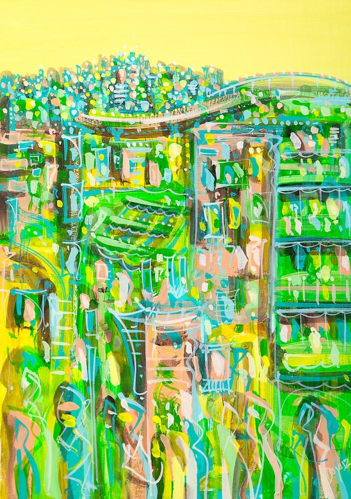 Uptown green by Adam Bogusz