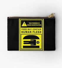Food May Contain Human Flesh Studio Pouch
