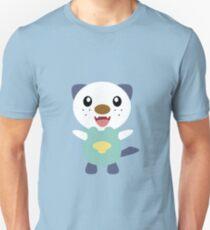 Oshawott - blue background T-Shirt