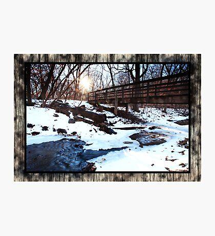 Platte River State Park Photographic Print