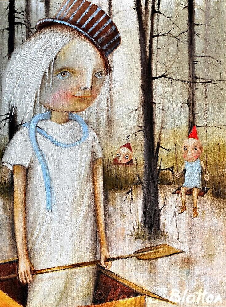 Swamp Ghost by Monica Blatton