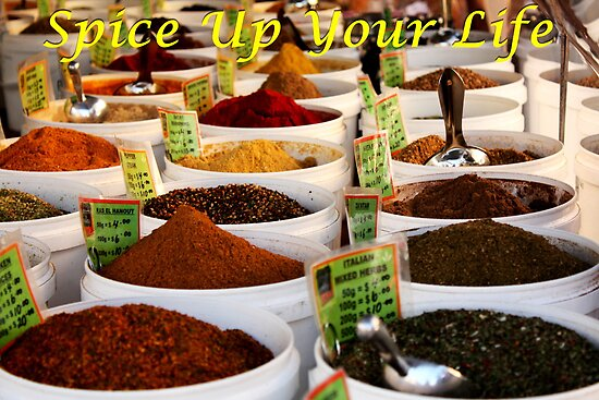 Spice Up Your Life by mabellissima