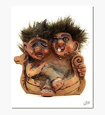Twin Troll Photographic Print