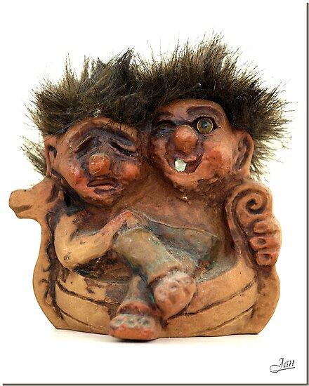 Twin Troll by Janone