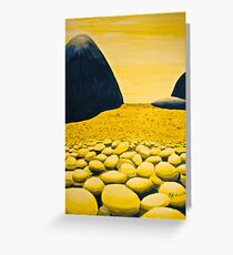 Rocky Valley, by Barbie Hardrock Greeting Card