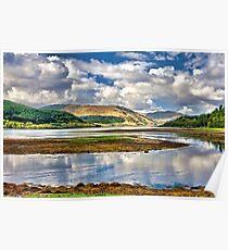 Loch Sunart From Strontian Poster