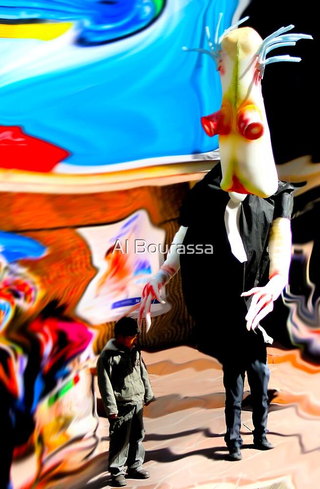 Surreal Abduction by Al Bourassa