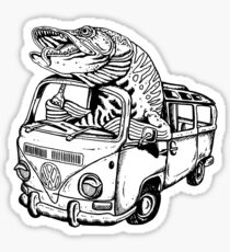 Musky Vanagon Sticker