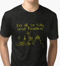 Pointless Birdy Long Sleeved T-Shirt Tri-blend T-Shirt