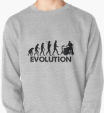 Evolution of a Drummer Pullover