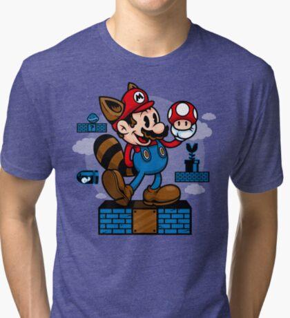 Vintage Mario Tri-blend T-Shirt
