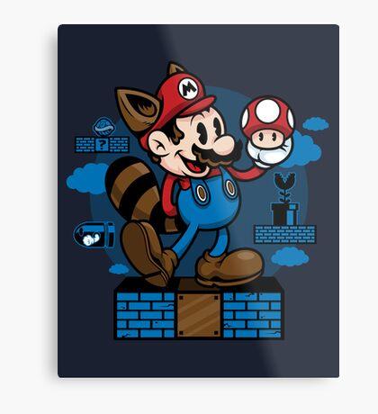 Vintage Mario Metal Print