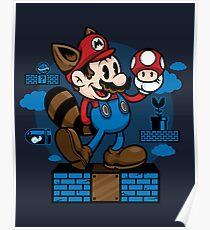 Vintage Mario Poster